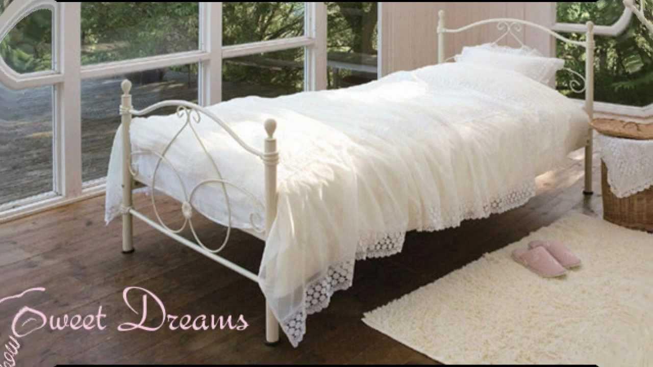 楽天 姫系 インテリア 家具 おしゃれで かわいい お姫様 ベッド 送料無料