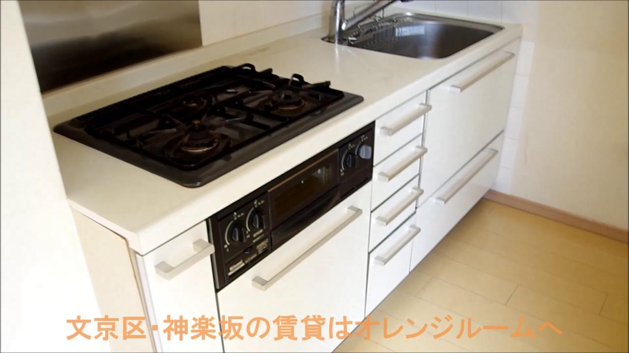 分譲賃貸マンション クオリア小石川 1DK 34.05㎡ 室内動画