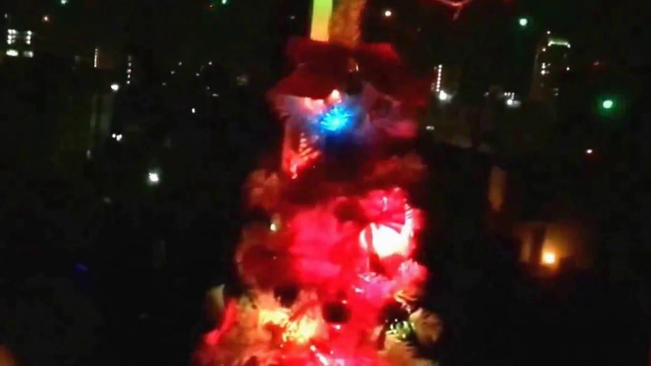 真冬のインテリア室内ライト灯してみた。2015年12月