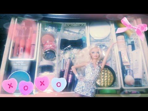 化粧品の収納紹介 2015★☆My dresser tour