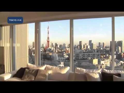 六本木駅から徒歩3分! 高層マンションの内部公開