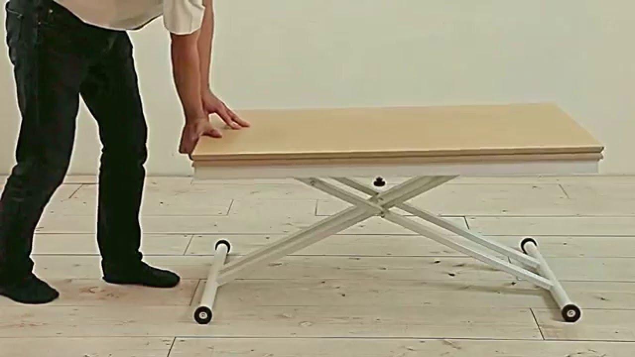 家具 インテリア|高さも広さも自由自在!カンタン・便利なお役立ちテーブル<伸長・昇降式テーブル>^^♪