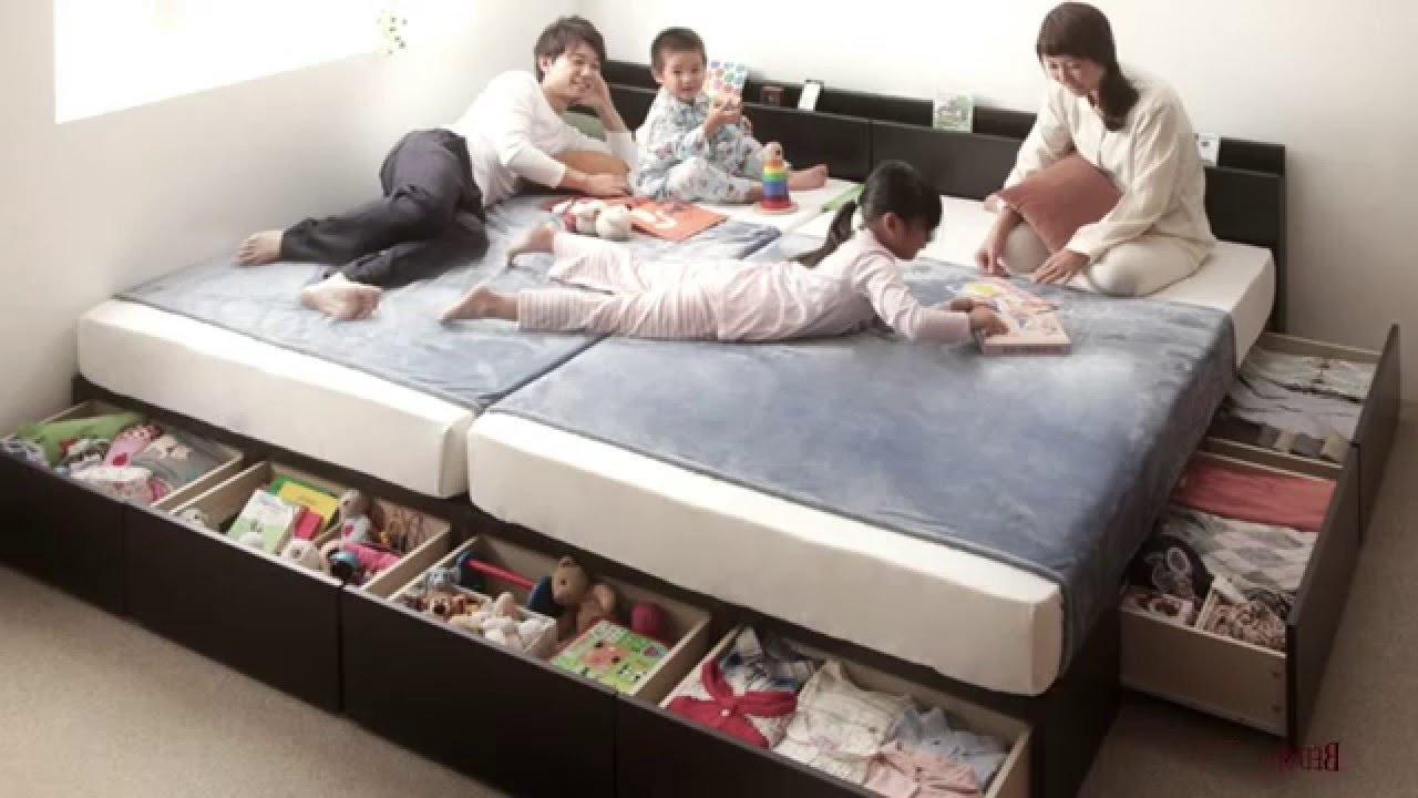 充実の機能と選べる収納スタイル 連結ファミリー収納ベッド