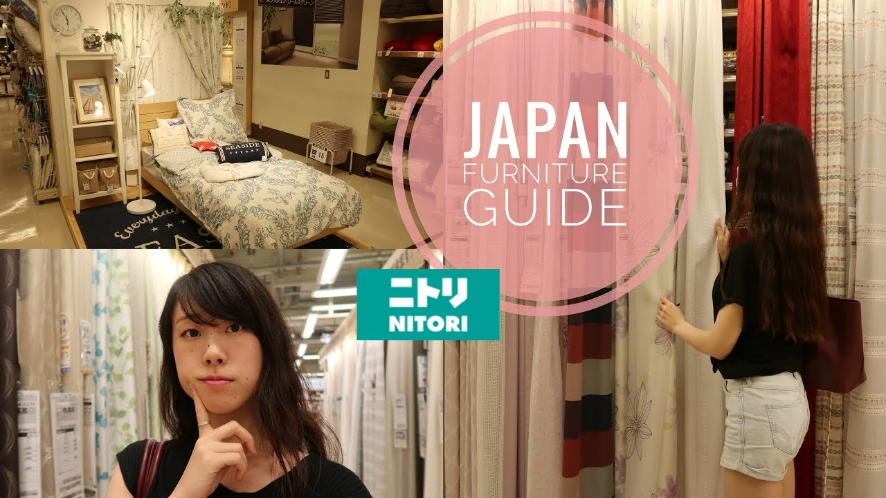 5 Tips For Buying Furniture in Tokyo // 一人暮らし家具選びのコツ at Nitori