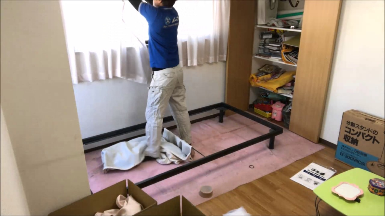 引っ越しに伴い、家具処分や粗大ゴミの片付け。