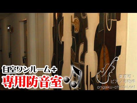 落合ミュージックハイム|ワンルーム+防音室