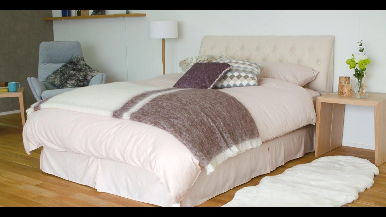 【大塚家具】インテリアのはなし 「季節のスタイリング-冬のあったかベッド編-」