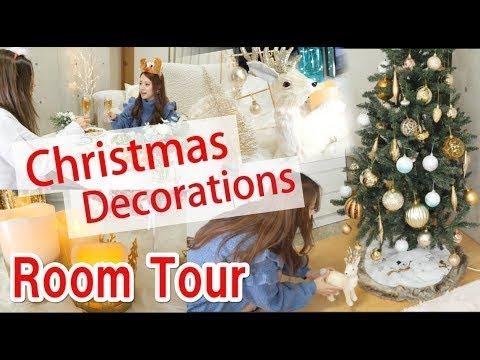 Christmas Decorations Room Tour2017☆  〜クリスマスデコレーションルームツアー〜