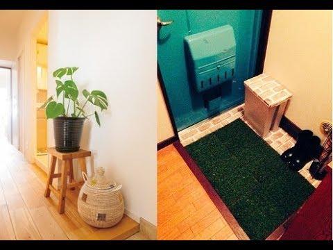 【DIY】玄関のお洒落なインテリアの手作り簡単アイデア♡~Handmade easy idea of stylish interior at the entrance.