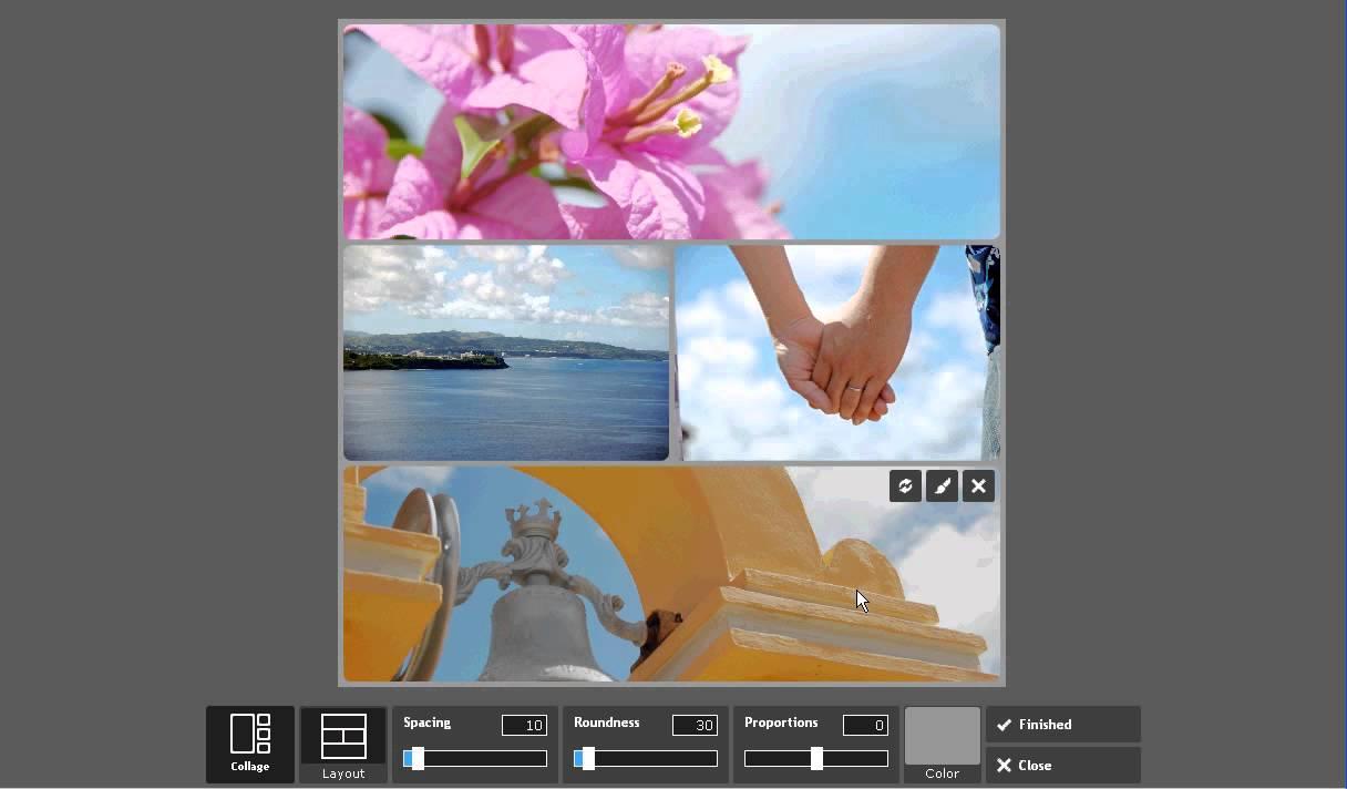PIXLR EXPRESS(Web版)を使って複数の画像を1枚の画像としてレイアウト作成