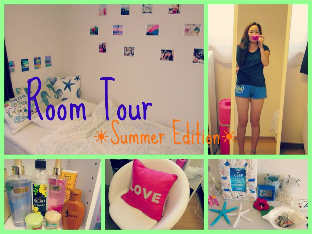 ROOM TOUR / お部屋紹介 ~Summer Edition~