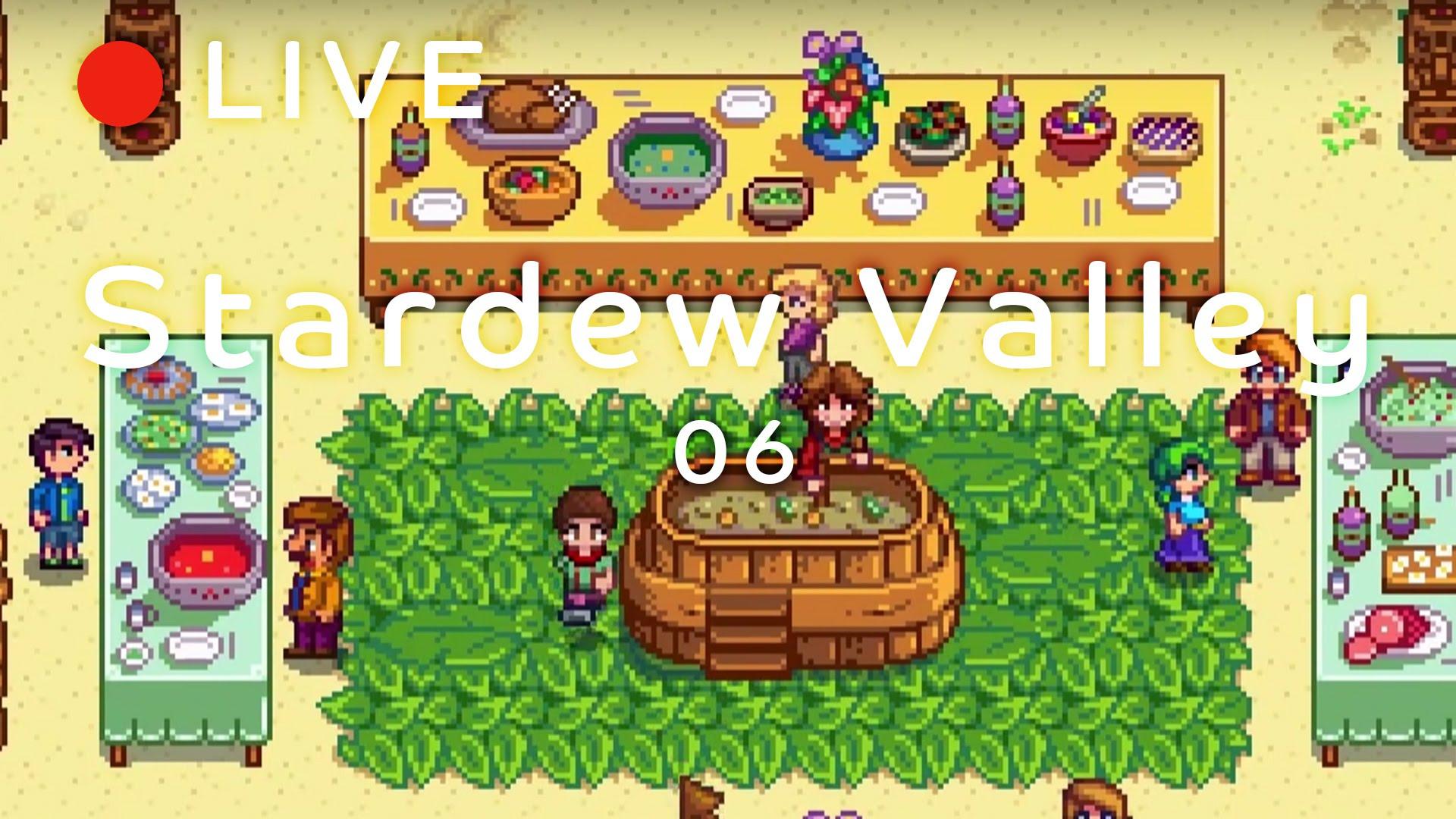 【Stardew Valley】盗撮された女/一人暮らしの食事/北のアイドル・フルーティー【雑談】#6