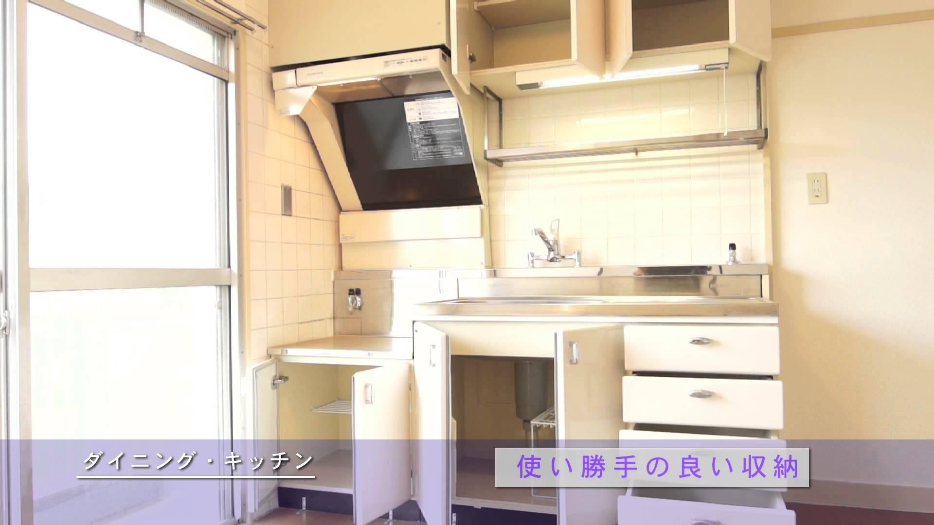 UR賃貸住宅 戸頭団地 部屋タイプ3E 室内紹介